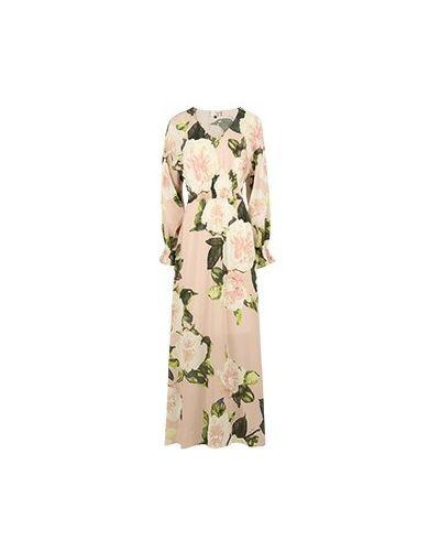 Розовое вечернее платье Elisa Fanti