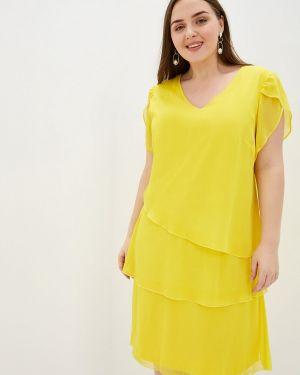 Желтое платье Samoon By Gerry Weber