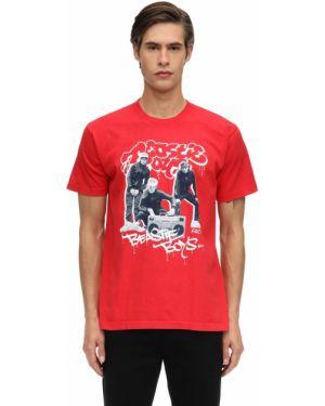 Prążkowany t-shirt bawełniany Fact. X Beastie Boys