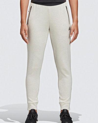 Спортивные брюки белые весенний Adidas