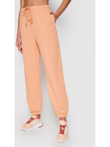 Pomarańczowe spodnie dresowe Levi's
