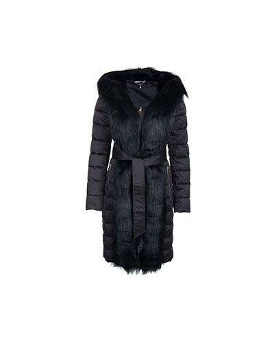 Черный пуховик зимний Liu Jo