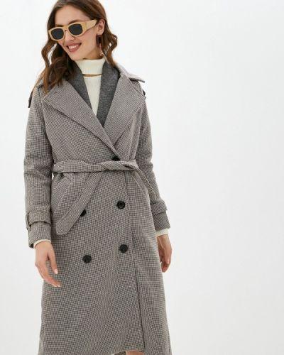 Коричневое пальто Imocean