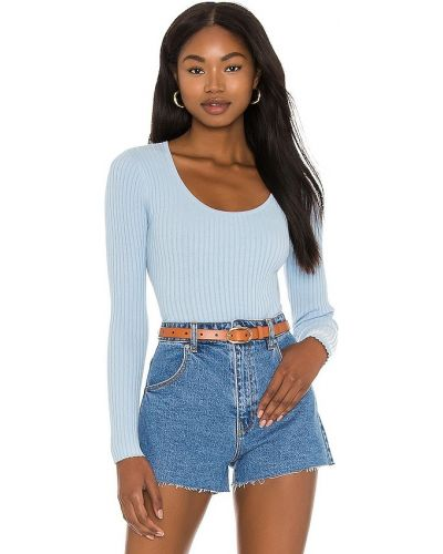 Пуховый свитер - синий Rolla's