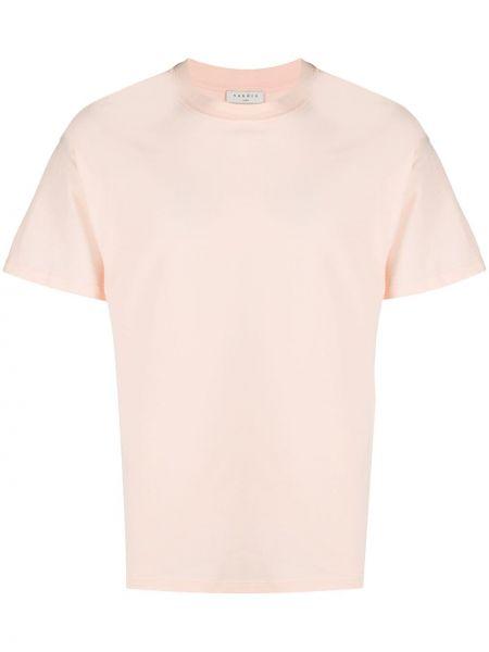 Koszula krótkie z krótkim rękawem prosto żółty Sandro Paris
