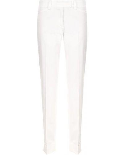 Укороченные брюки с отворотами со стрелками Windsor