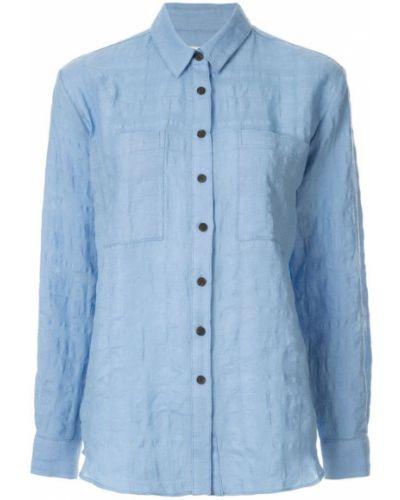 Рубашка с длинным рукавом с карманами на пуговицах Mara Hoffman