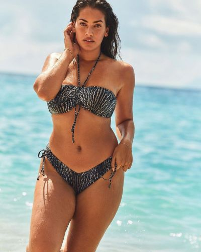 Домашний купальник бандо с завязками Victoria's Secret