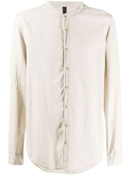 Прямая рубашка с воротником на пуговицах из вискозы Poème Bohémien
