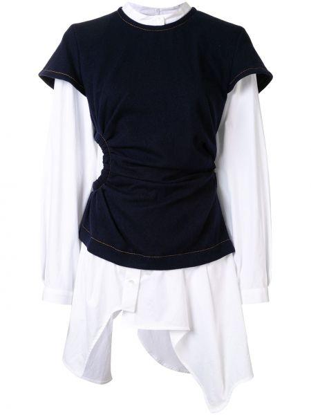 Biała koszula z długimi rękawami - biała Enfold