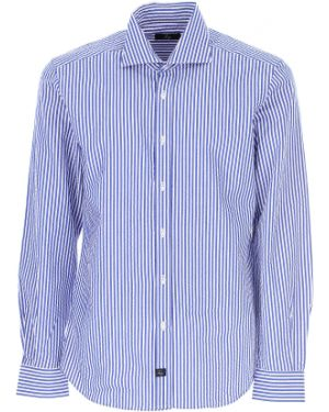 Koszula z długim rękawem klasyczna w paski Fay