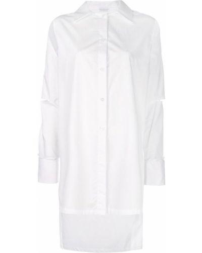 Рубашка с длинным рукавом белая на пуговицах Dresshirt