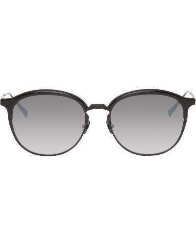 Czarne okulary skorzane Belstaff