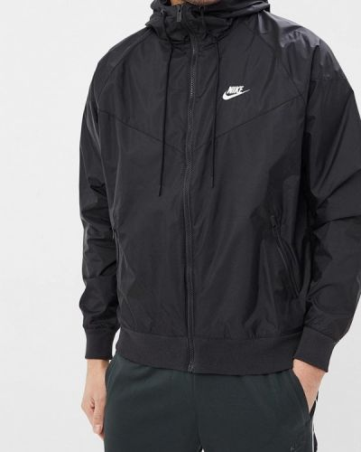 Ветровка черная Nike