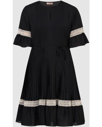 Черное платье мини Twin-set