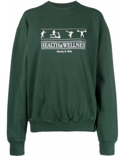 Bluza, zielony Sporty And Rich