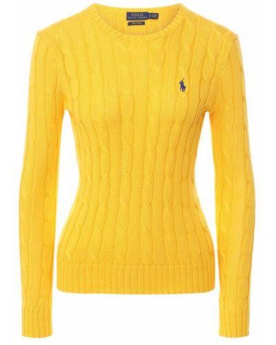 Свитер желтый Polo Ralph Lauren