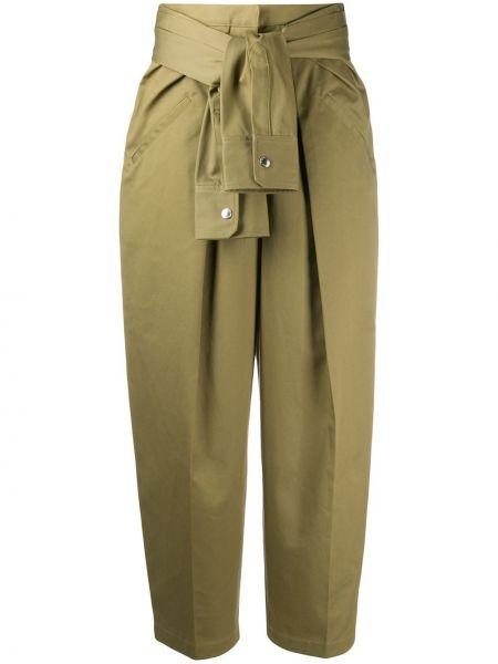 Szerokie spodnie z wysokim stanem z kieszeniami Alexander Wang