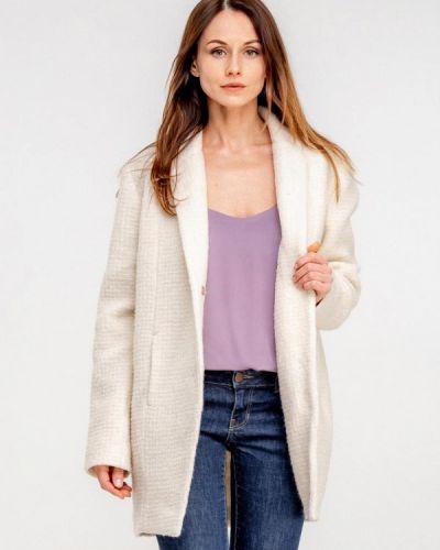 Пальто белое осеннее Dressinjoy By Lipashova & Malko