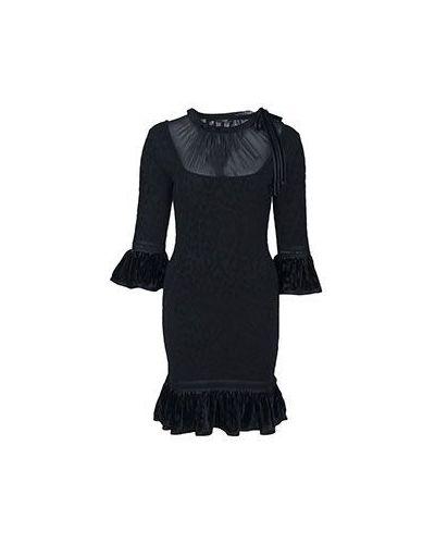 Вечернее платье из вискозы осеннее Roberto Cavalli