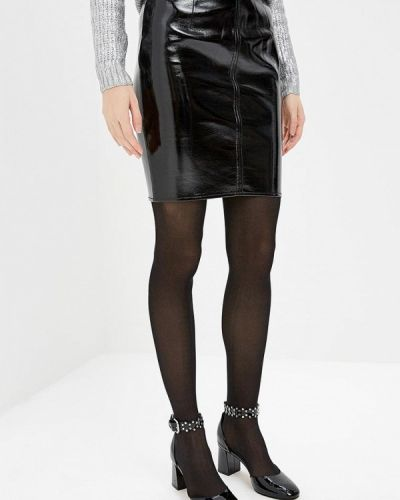 Кожаная юбка осенняя Armani Exchange