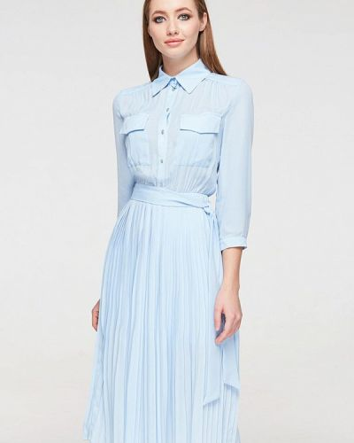 Платье - голубое Brunello De Neri