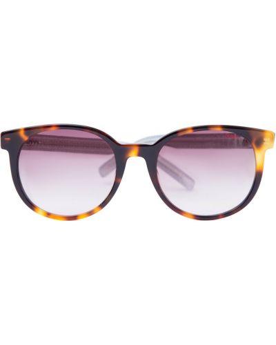 Солнцезащитные очки стеклянные круглые Hugo Boss (sunglasses)