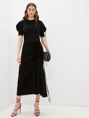 Черное вечернее платье N°21