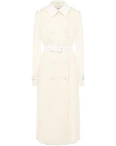 Плащ с поясом приталенный Givenchy