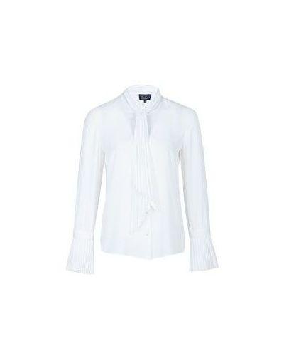Белая блузка классическая Luisa Spagnoli