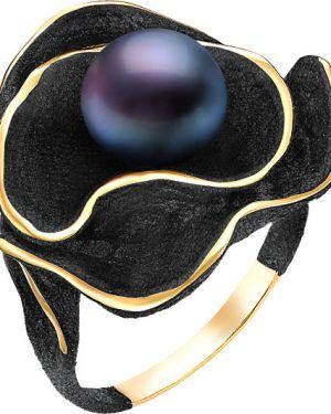 Кольцо с жемчугом из золота De Fleur