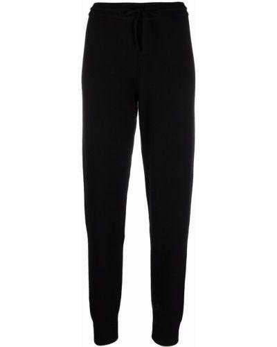 Черные брюки в рубчик Simonetta Ravizza