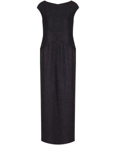 Платье макси с высоким разрезом с вырезом St. John