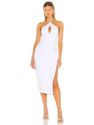 Трикотажное платье миди - белое Susana Monaco