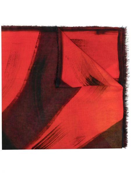 Szalik z jedwabiu z printem Faliero Sarti