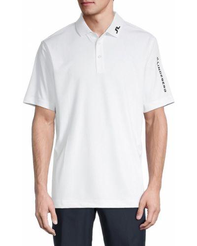 Fioletowy golf krótki rękaw J Lindeberg