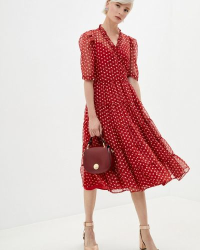 Красное платье с запахом Sister Jane