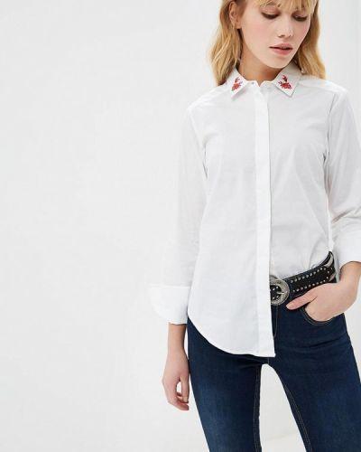 Рубашка с длинным рукавом белая Fresh Brand