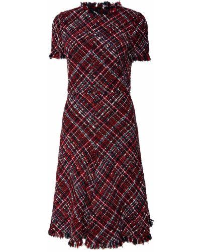 Платье мини миди с бахромой Alexander Mcqueen