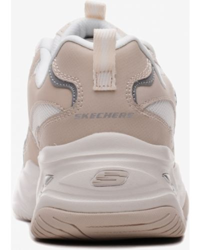 Кроссовки - бежевые Skechers