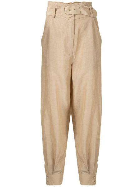 Свободные брюки с поясом на пуговицах свободного кроя Sir.