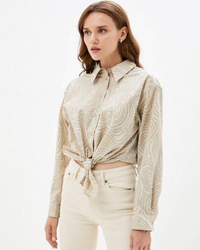 Рубашка с длинным рукавом - бежевая Twist & Tango