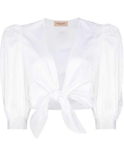 Хлопковая блузка - белая Adriana Degreas