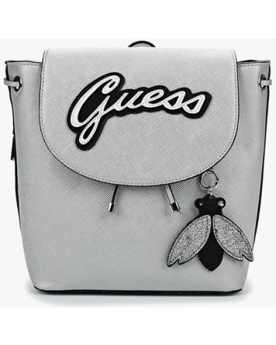 Рюкзак серебряного цвета Guess