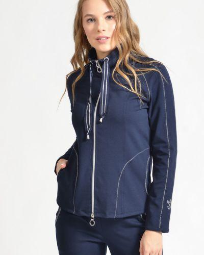 Синий пиджак с воротником на молнии Betty Barclay