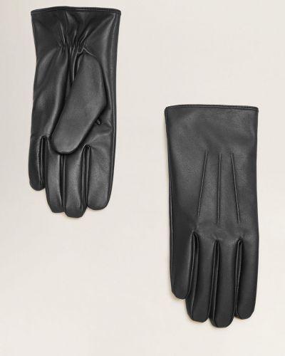 Кожаные перчатки акриловые Mango Man
