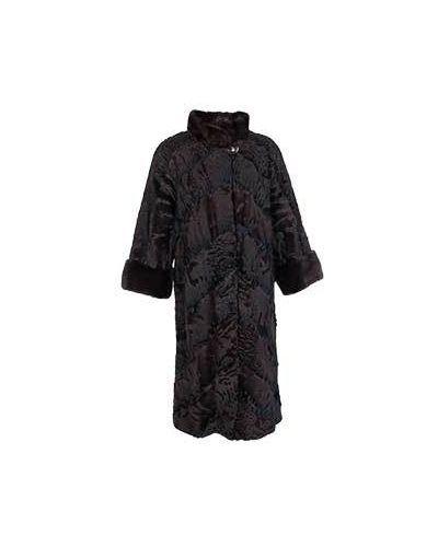 Пальто зимнее из каракульчи Bellini