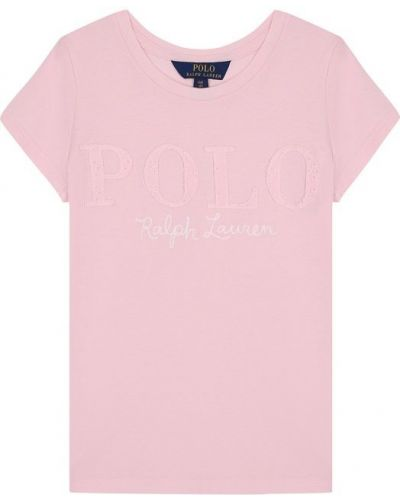 Футболка с логотипом хлопковая Polo Ralph Lauren