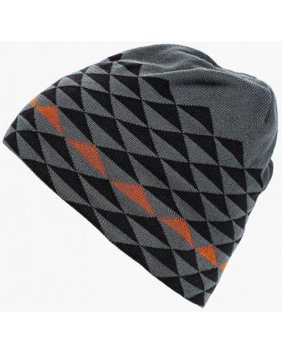 Серая шапка осенняя Salomon