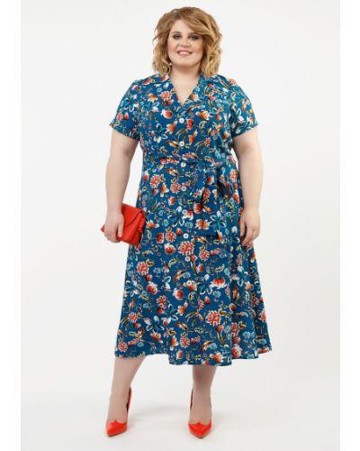 Летнее платье мини миди Jetti-plus